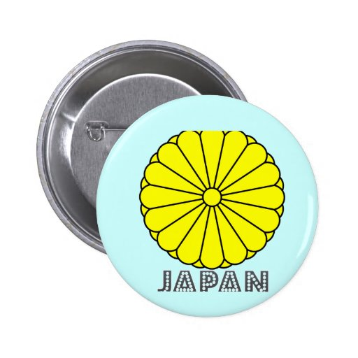Japanese Emblem Pinback Button