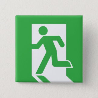 Japanese Emergency Exit Sign Button