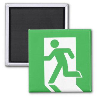 Japanese Emergency Exit Sign Magnet