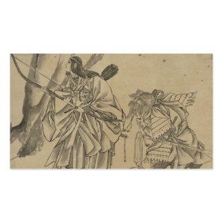 Japanese Empress circa 1800s Business Card