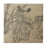 Japanese Empress circa 1800s Tiles