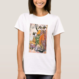 Japanese Engraving Three Geisha 1911 T-Shirt