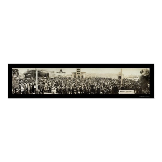 Japanese Exposition San Francisco Photo 1914 Poster