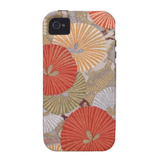Japanese fabric iPhone 4 Case-Mate Case