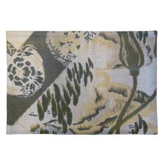 Japanese Fabric Sash Design Place Mat