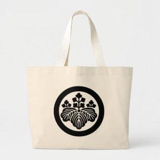 Japanese Family Crest KAMON Symbol Jumbo Tote Bag