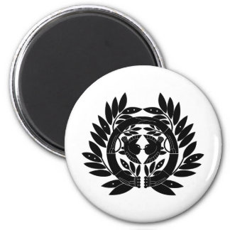 Japanese Family Crest KAMON Symbol Magnet