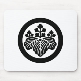 Japanese Family Crest KAMON Symbol Mousepad