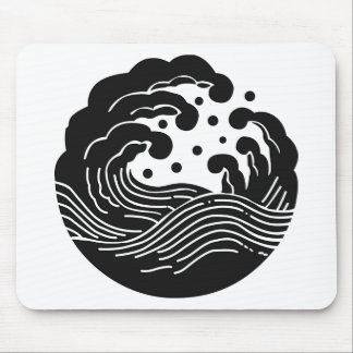 Japanese Family Crest KAMON Symbol Mouse Pads