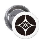Japanese Family Crest KAMON Symbol Pin