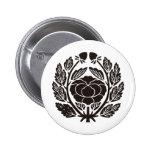 Japanese Family Crest KAMON Symbol Pinback Button