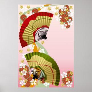 Japanese Fan 3 Poster