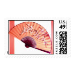 Japanese Fan Decoration- stamps