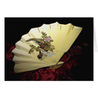 Japanese Fan Greeting Card