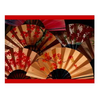 Japanese Fan Postcards