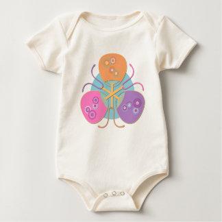 Japanese fans baby bodysuit