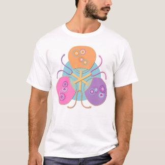 Japanese fans (pastel colours) t-shirt