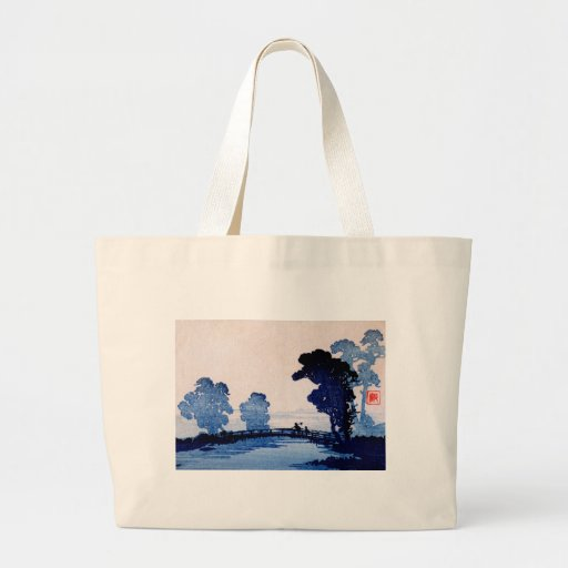 Japanese Father and Son no.1 Canvas Bags
