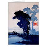 Japanese Father and Son no.1 Greeting Cards