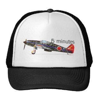 Japanese fighter ki-61 trucker hat