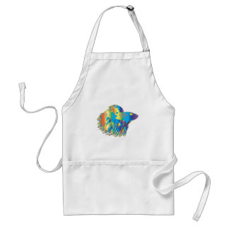 Japanese Fighting Fish Adult Apron