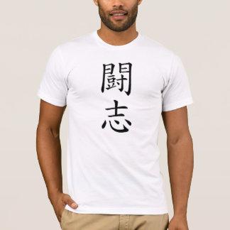 Japanese Fighting Spirit Kanji T-Shirt