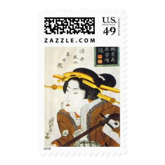Japanese Fine Art Stamps Stamp