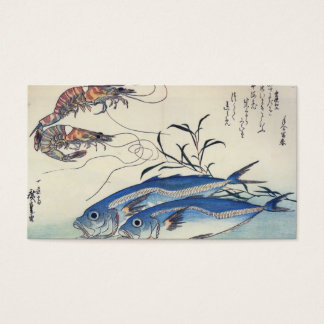 JAPANESE FISH and SHRIMP Business Card