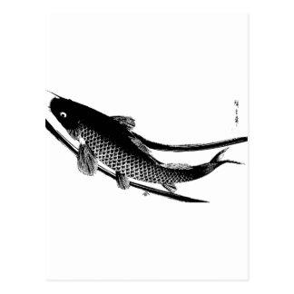Japanese Fish Post Card