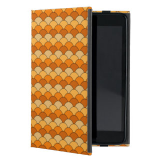Japanese Fish Scale Pattern Covers For iPad Mini