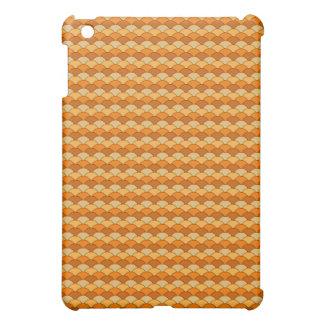 Japanese Fish Scale Pattern iPad Mini Cover