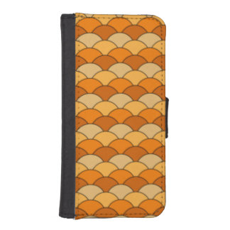 Japanese Fish Scale Pattern iPhone 5 Wallet