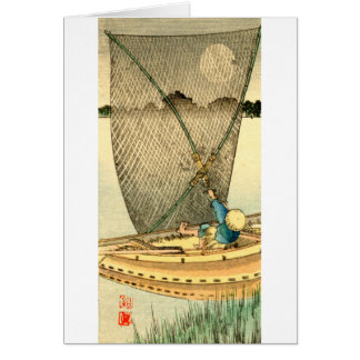 Japanese Fisherman no.1 Card