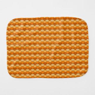Japanese Fishscale Pattern Baby Burp Cloth