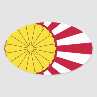 Japanese Flag And Inperial Seal