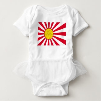 Japanese Flag And Inperial Seal Baby Bodysuit