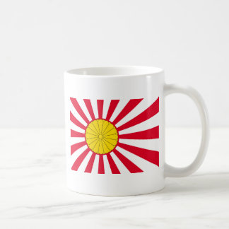 Japanese Flag And Inperial Seal Coffee Mug