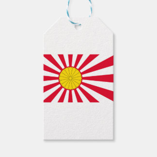 Japanese Flag And Inperial Seal Gift Tags