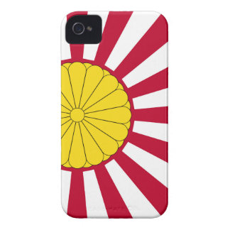 Japanese Flag And Inperial Seal iPhone 4 Cover