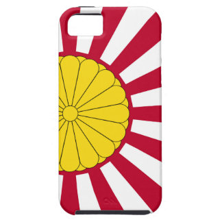 Japanese Flag And Inperial Seal iPhone SE/5/5s Case