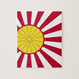 Japanese Flag And Inperial Seal Jigsaw Puzzle