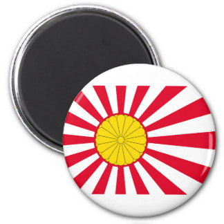 Japanese Flag And Inperial Seal Magnet