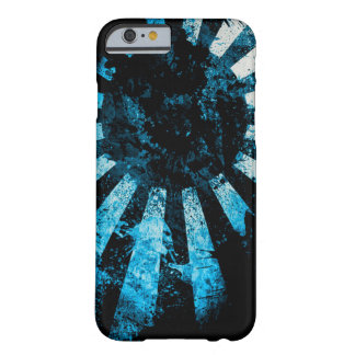 Japanese Flag Cobalt Art Barely There iPhone 6 Case
