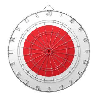 Japanese flag dart boards