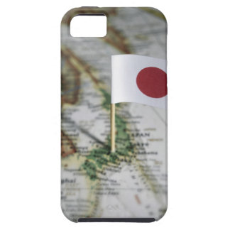 Japanese flag in map iPhone SE/5/5s case