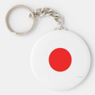 Japanese Flag Keychain