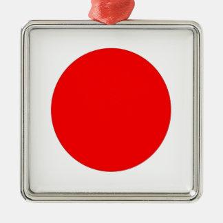 Japanese Flag Metal Ornament