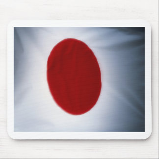 Japanese Flag Mouse Pad