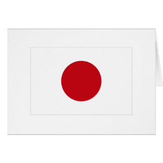 Japanese Flag T-shirts and Apparel Cards