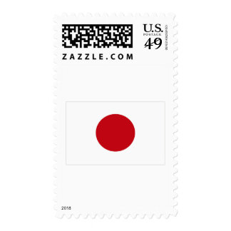 Japanese Flag T-shirts and Apparel Postage Stamp